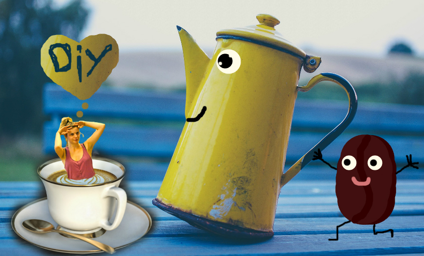 Diy gommage au marc de caf en vert et contre tout - Comment faire bruler du marc de cafe ...